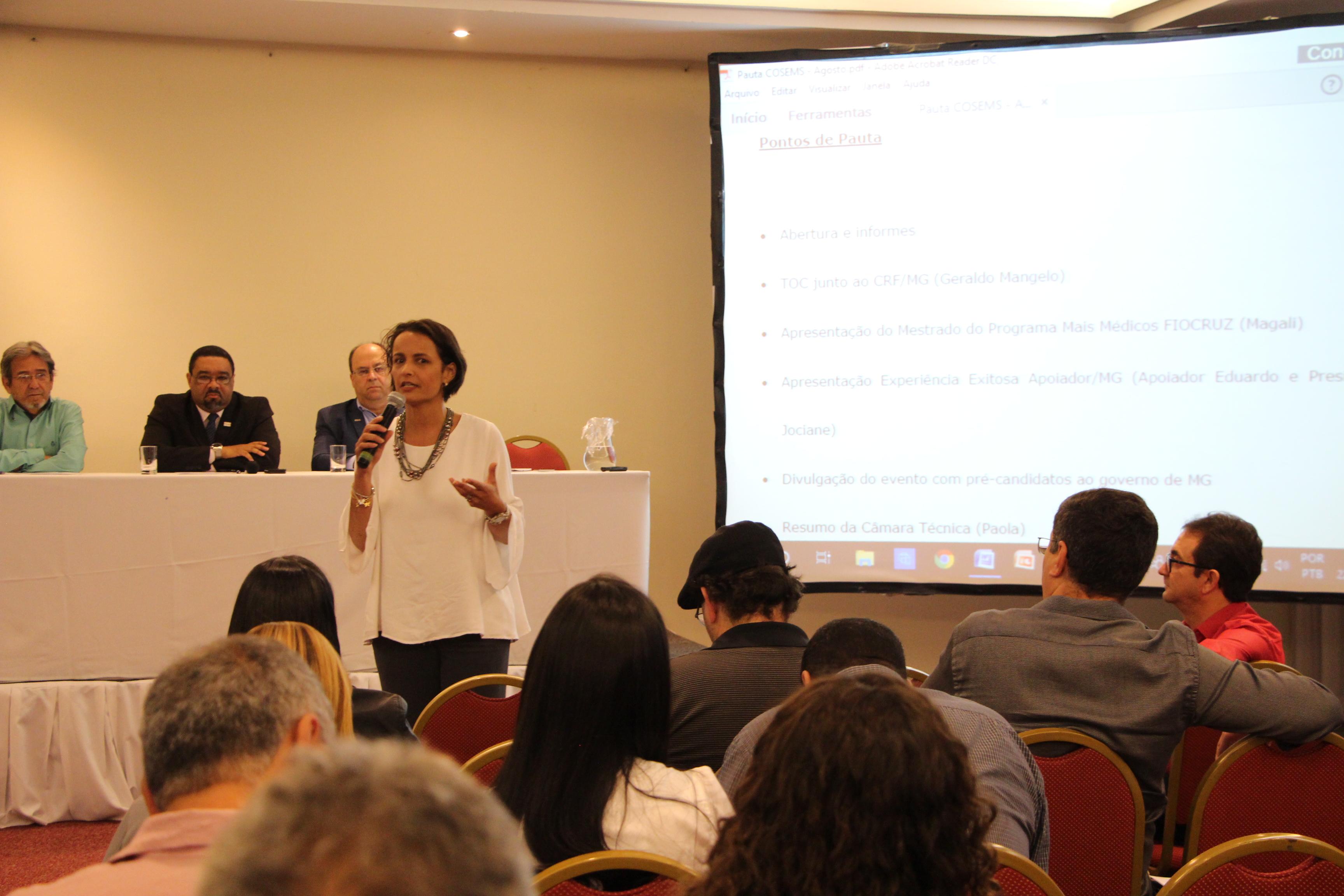 CRF/MG e Cosems firmam acordo para regularização da assistência farmacêutica nos municípios